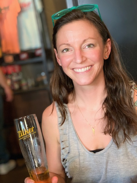 Kristen Picture at Zilker Brewing