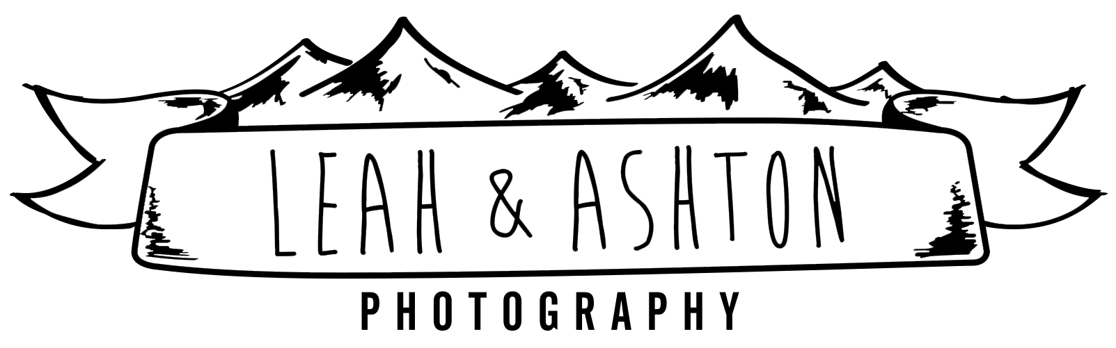 Leah and Ashton Photography Logo